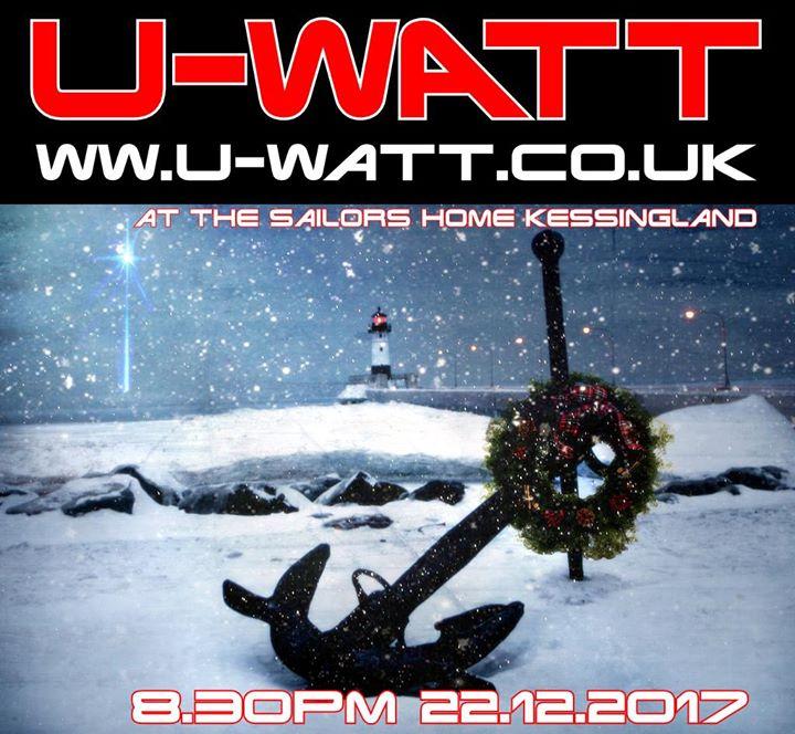 Christmassy U-Watt at the Sailors Home Kessingland