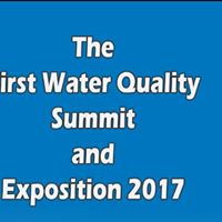 1st Water Quality Summit &amp Exposition 2017