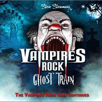 Steve Steinmans Vampires Rock Ghost Train at Bunn Leisure