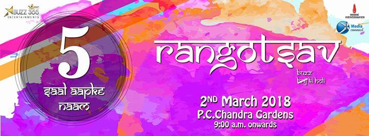 Rangotsav18 - Buzz Ki Holi Festival