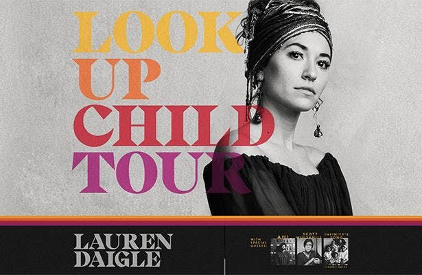 Lauren Daigle Look Up Child Tour - World Vision Volunteer - Cleveland OH