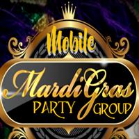 Mardi Gras Party Group