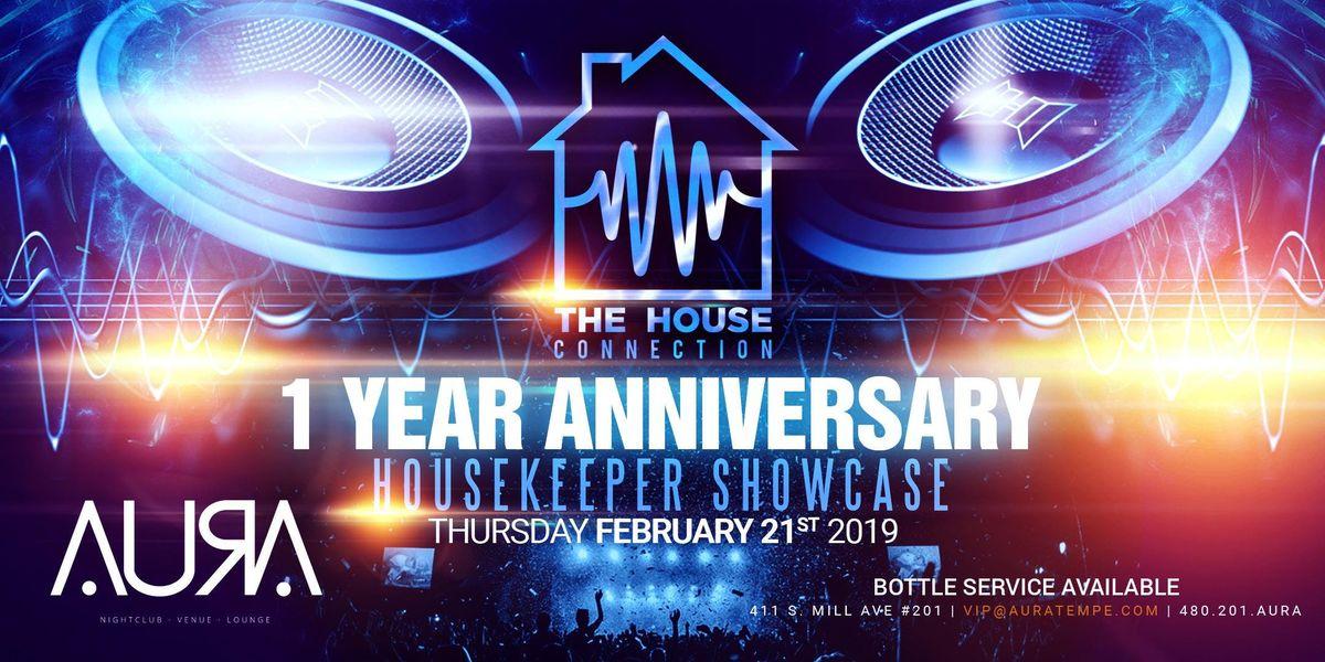 HOUSEKEEPER SHOWCASE @ Aura Nightclub | Tempe