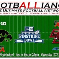 Pinstripe Bowl  Iowa vs Boston College PinstripeBowl