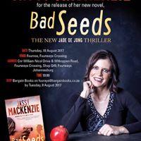 Book Launch Bad Seeds by Jassy MacKenzie