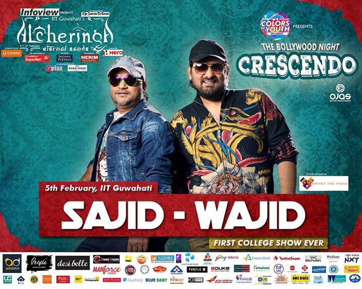 Sajid - Wajid Live at IIT Guwahati