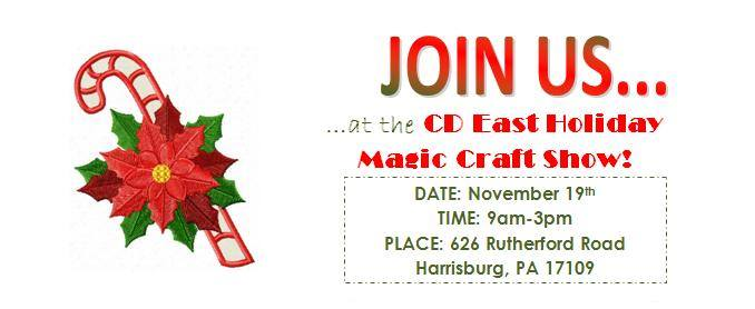 Central dauphin east holiday magic craft show at 626 for Harrisburg christmas craft show