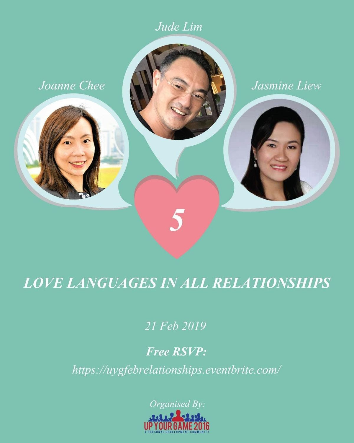 UYG Feb19 Edition  5 Love Languages in All Relationships
