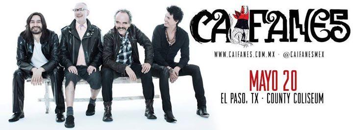 Caifanes @ El Paso County Coliseum | El Paso | Texas | Estados Unidos