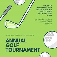 Majors Annual Golf Tournament