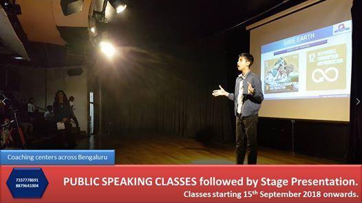 Public Speaking classes for kidsIndiranagar