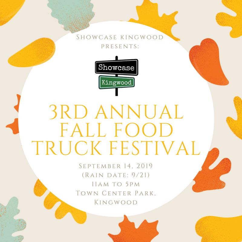 Kingwood Town Center: 3rd Annual Fall Food Truck Festival By Showcase Kingwood
