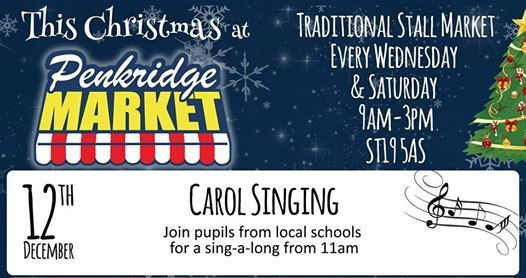 Christmas Market with Carol Singers from Marshbrook School