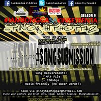 TUNE in (92317) Y3-S9 of Jambongga with Pinoy Hiphoppaz sa Kinse Trenta