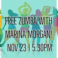 ZUMBA Workshop with Marina Morgan