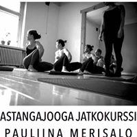 Astangajooga jatkokurssi - Pauliina Merisalo 12-13.5.2017