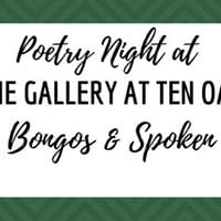 Poetry Night at The Gallery at Ten Oaks