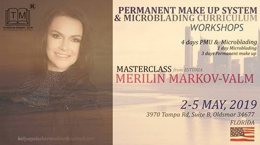 PMU System & Microblading Curriculum Workshops at Kelly's