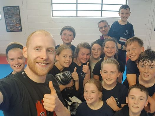 Kids Kickboxing Camp Skibbereen at Martial Arts Fitness
