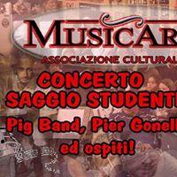MusicArt saggio studenti Pig Band Pier Gonella ospiti Rapallo