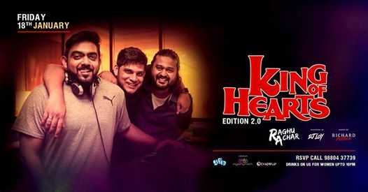 King Of Hearts ft DJ Raghu Achar - Poolside Ladies Night