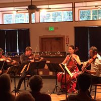 Redding Pacific Crest Faculty Concert Tchaikovsky Bach