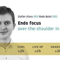 Endo Focus  over the shoulder in office hands on