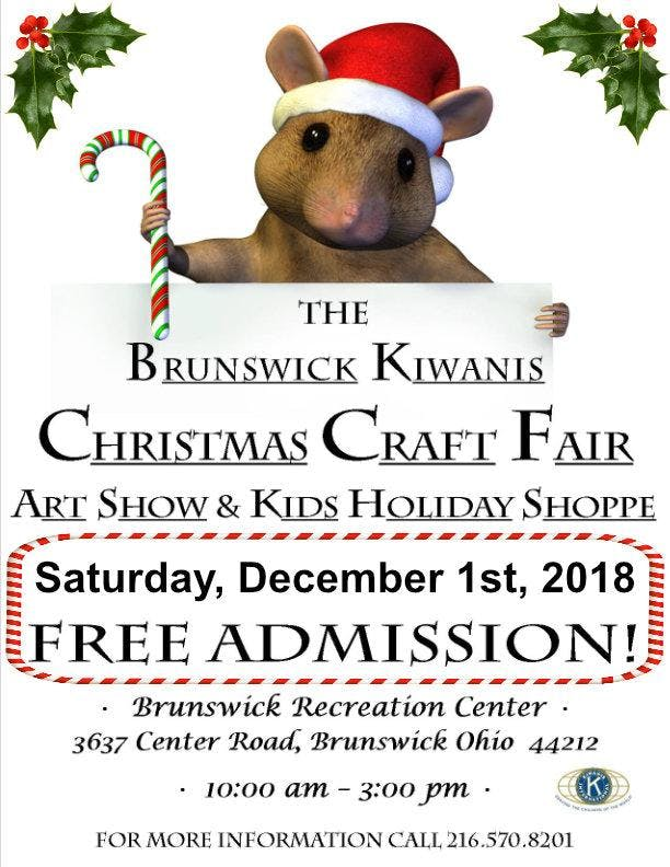 9th Annual Brunswick Kiwanis Club Craft Fair