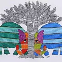 Gond Art - Two day workshop in Bangalore