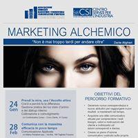 Corso di formazione Marketing Alchemico