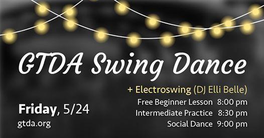 Friday GTDA May Swing Dance