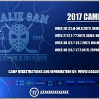 GoalieSam Summer Camps 2017