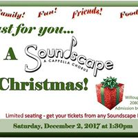 Just for you family and friends A Soundscape Christmas