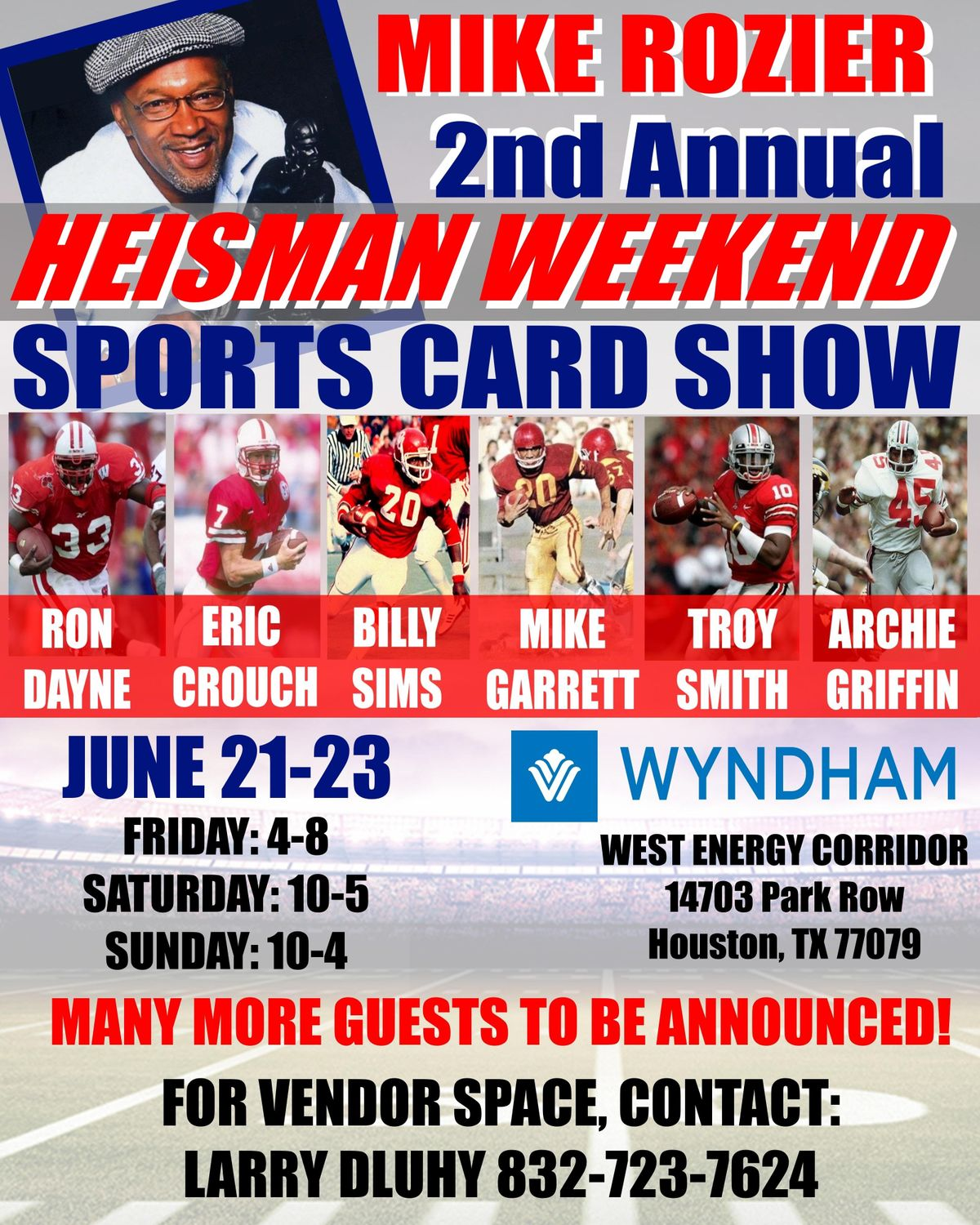 2019 Houston Sports Collectibles Show At Wyndham Houston