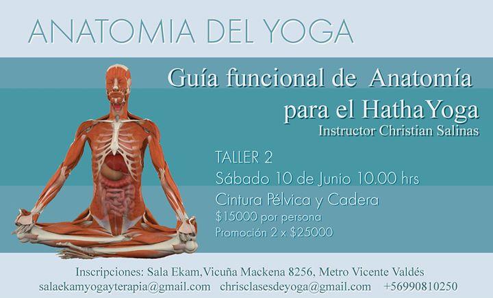 Guía Funcional de Anatomía para el Hatha Yoga at Sala Ekam, Santiago