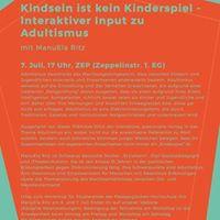 Interaktiver Input zu Adultismus (Manuela Ritz)