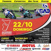 Curso de Pilotagem e Racing Day  SCS