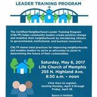 2017 Certified Neighborhood Leader Training Program