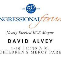 Congressional Forum featuring KCK Mayor David Alvey