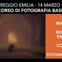 Reggio Emilia Corso di Fotografia Base