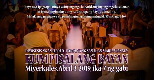 Kumpisalang Bayan 2019
