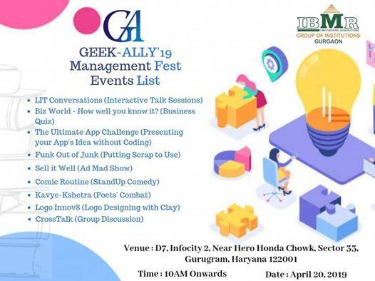 GeekAlly19 at IBMRGurgaon, Gurgaon