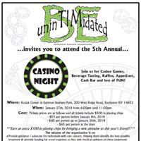 Be UninTIMidated Casino Night Fundraiser
