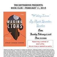 TBS Sisterhood Book Club&quotWaking Lions&quot by Ayele Gundar-Goshen