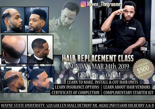 Hair Replacement Workshop (Hair & Wave Custom Units)