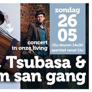 Concert in de living Stevo Tsubasa & Tim san gang