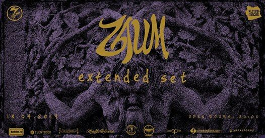 ZAUM [CAN] - Extended Set  Joi-18.04.2019  Flying Circus