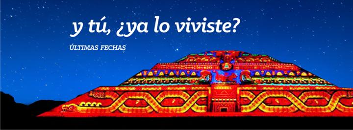 Teotihuacan espect culo de luz y sonido at teotihuacan Espectaculo de luz y sonido en teotihuacan