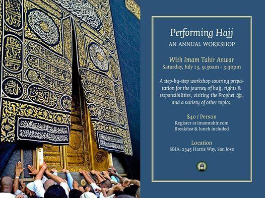 2019 Hajj Preparation Workshop With Imam Tahir Anwar at