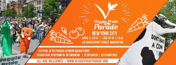11th Annual Veggie Pride Parade NYC